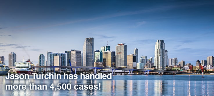 Jason Turching has handled more than 4,500 cases!